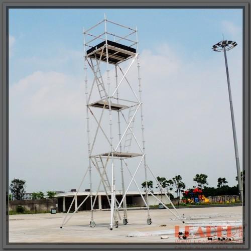 厂家直销6.2m平台铝合金脚手架 高空安全作业稳固使用寿命长