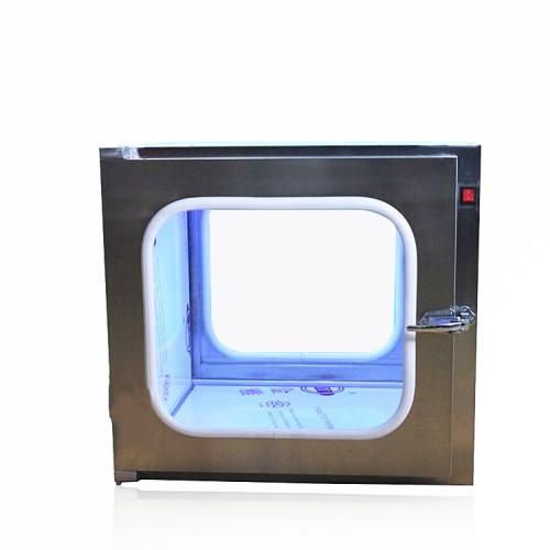 机械互锁带杀菌灯电子连锁不锈钢传递窗,洁净车间传递窗厂家价格