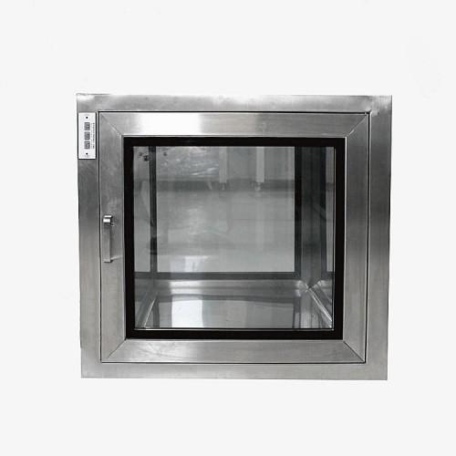 洁净室用电子连锁不锈钢传递窗厂家,含杀菌灯洁净传递窗厂家价格