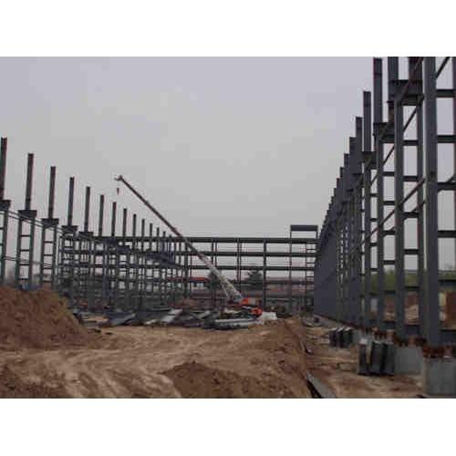 安徽钢结构安装厂家/宝发彩钢/彩钢钢构制作工程设计