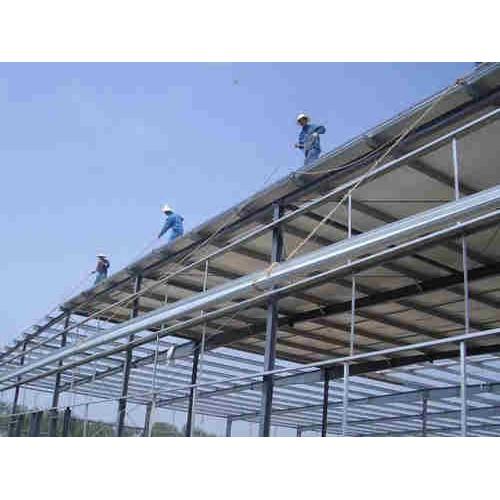 浙江钢结构设计施工_泊头宝发彩钢_彩钢钢构安装厂家定制