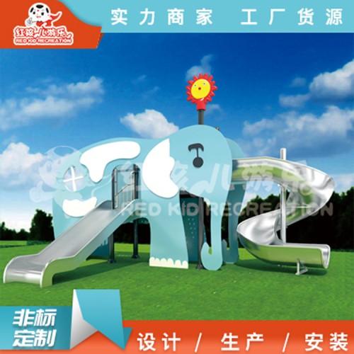 室外PE儿童组合滑梯厂家 定制儿童玩具滑滑梯 创意游乐设备