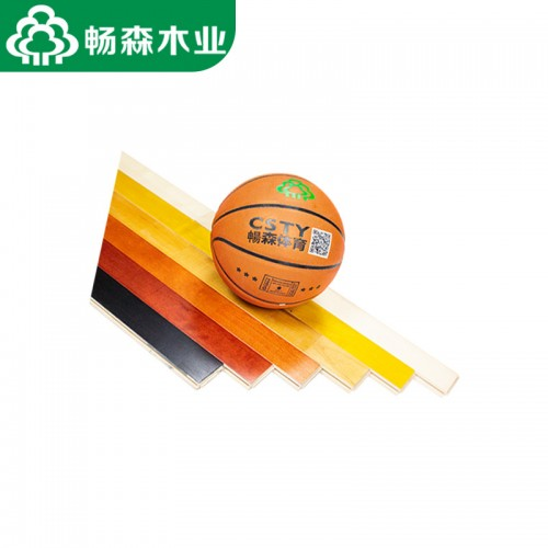 畅森体育运动木地板,篮球木地板厂家直销防滑耐磨
