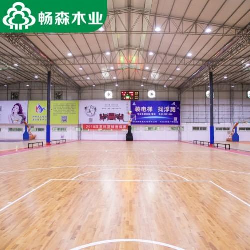 室内篮球场馆木地板,体育运动木地板全国安装一站式服务
