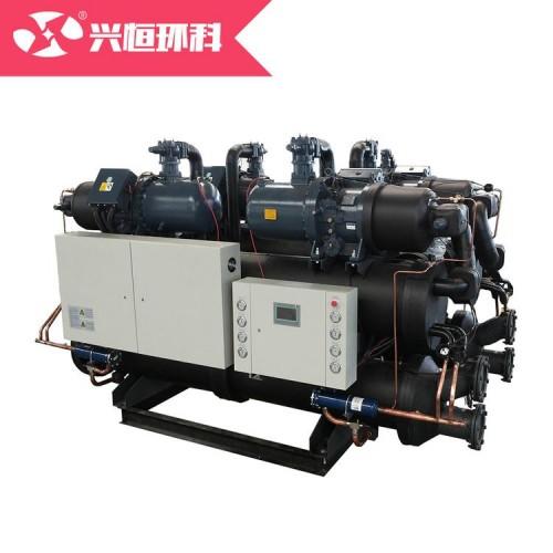 中央空调主机水冷螺杆冷水机组厂家直销一件代发水源热泵风冷模块