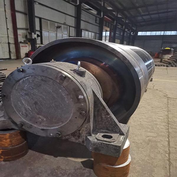 河北滚筒供应商加工 定制胶面改向滚筒 光面改向滚筒 卓锐直销