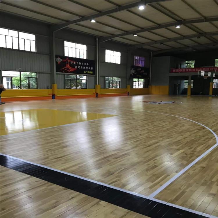 室内篮球馆木地板-安装经验丰富-全国包安装