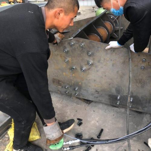 专业定制矿用震动筛风机液压环槽铆钉枪拉铆枪冷铆枪拉断