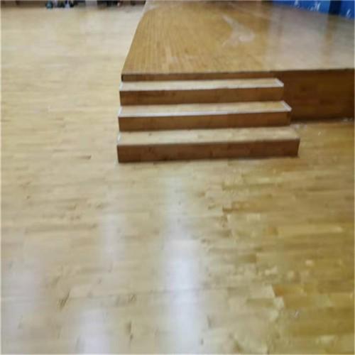 舞台专用实木地板做法