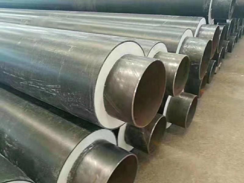 供暖用聚氨酯发泡保温钢管-3pe防腐螺旋钢管