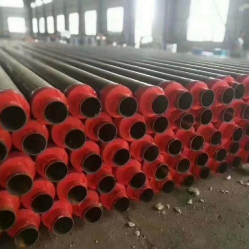 保温钢管 直埋保温管 钢套钢蒸汽管 2/3pe防腐钢管