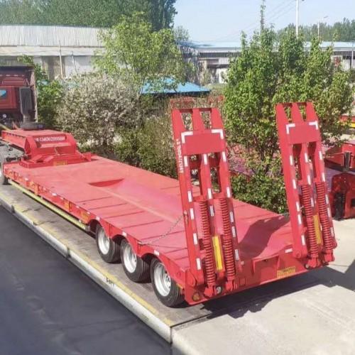 梁山专业生产低平板挂车厂家
