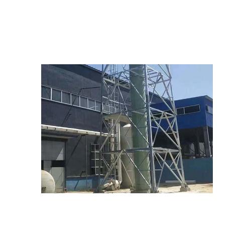 玻璃钢烟囱及支架