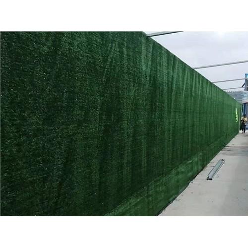 围挡绿化景观 助力创建绿色家园