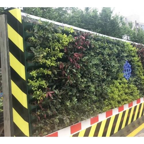 三田钢结构立体绿化围蔽为城市建设再添辉煌