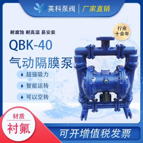 流体衬氟气动隔膜泵