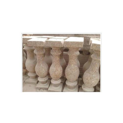 黄锈石花瓶柱栏杆