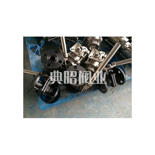 碳钢弹簧自动复位球阀