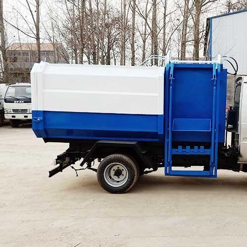 小型垃圾车 5立方汽油驭菱挂桶垃圾车