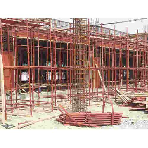 献县脚手架搭建/文财建材租赁站/钢管架子搭建