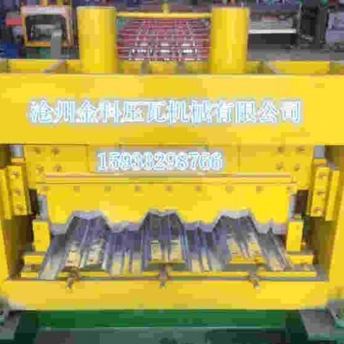 吉林双层压瓦机加工~金科冷弯~按需生产750型楼面承重板设备