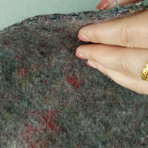定制土工布毛毡保暖棉毡大棚保温涤纶针刺毛毡棉毡土工布无纺布