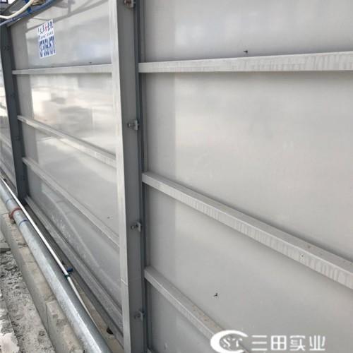 A3-1款钢板围墙背面