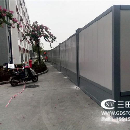 A3-2款钢板围墙正面