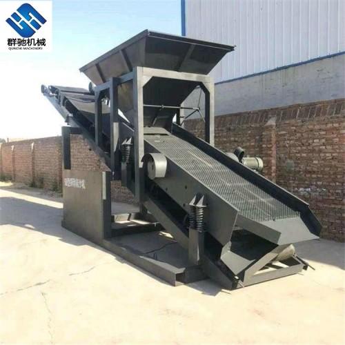 群驰机械移动筛沙机80型筛沙机振动筛沙机厂家直销