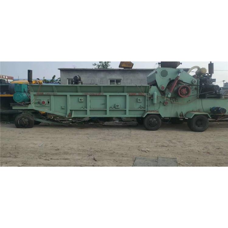 出售9.9成新1300锤头破碎机 链板进料 移动式柴油机