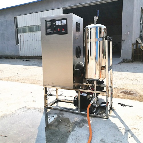 高浓度杀菌消毒臭氧水一体机,大型果蔬清洗消毒臭氧水机厂家价格