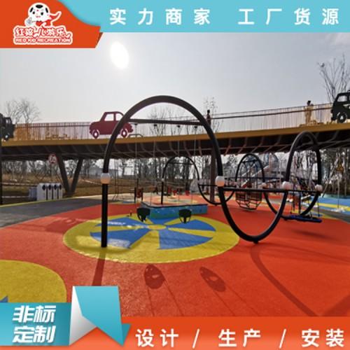 室外儿童游乐秋千设备 户外秋千小型游乐设施厂家直销