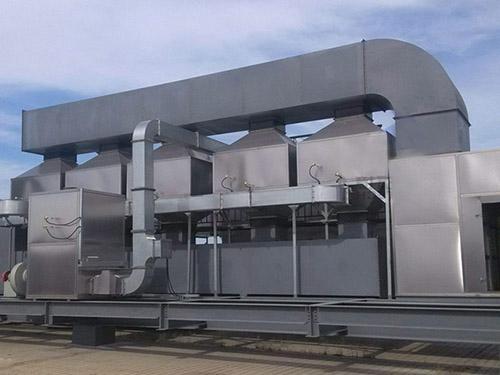 废气催化燃烧设备现货供应/耀捷环保设备经久耐用