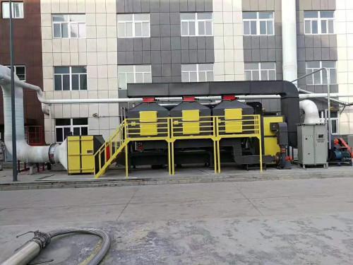 废气处理催化燃烧设备现货/泊头市耀捷环保品质保证