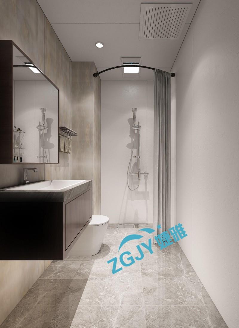 山东婕雅专业生产酒店宾馆装配式卫生间整体卫浴装配式卫浴设施