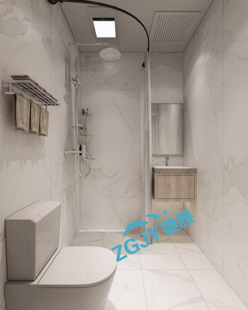 山东专业生产酒店宾馆装配式卫生间