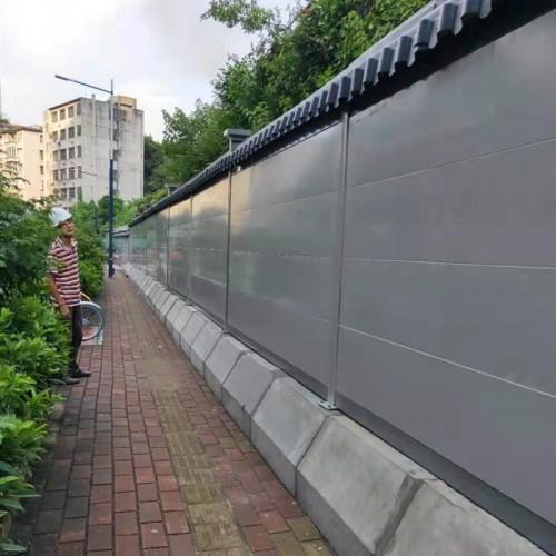 缘何客户青睐三田钢结构A3款钢板围挡产品