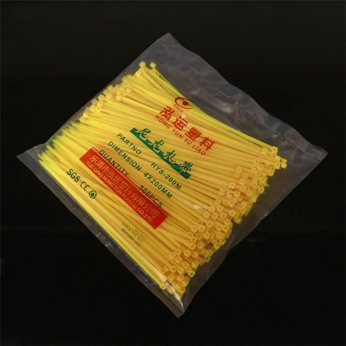泓运厂家直销 自锁式尼龙扎带   塑料捆扎带扎线