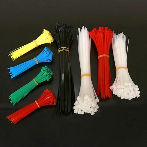 尼龙扎带厂家直销塑料捆扎带 带扣自锁式束线带 扎线带