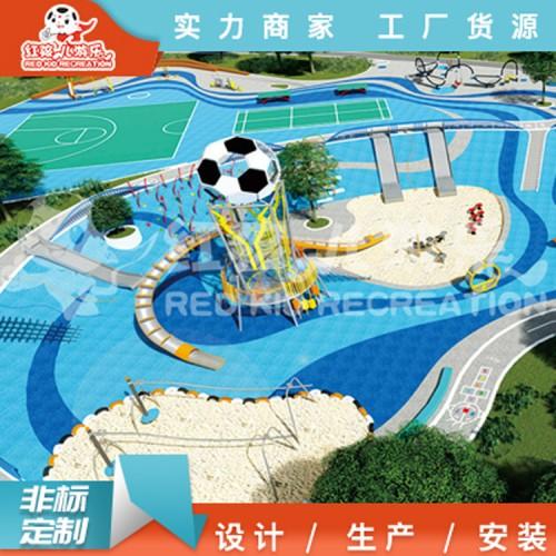 户外亲子乐园-社区儿童乐园-儿童户外游乐场设备