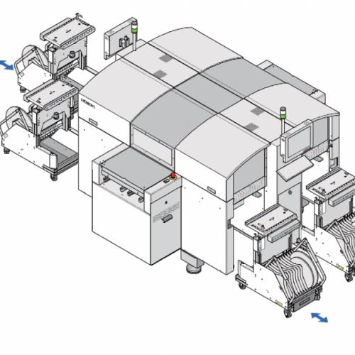 厂家现货SMT二手贴片机 ASM西门子高速贴片机D2D4