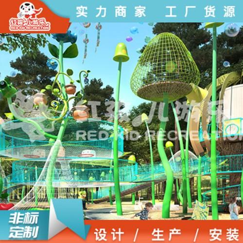 户外儿童乐园设计-大型拓展训练设备厂家定制直销