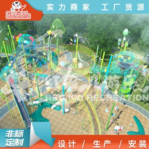 大型儿童拓展攀爬设备厂家 专业定制绳网设施