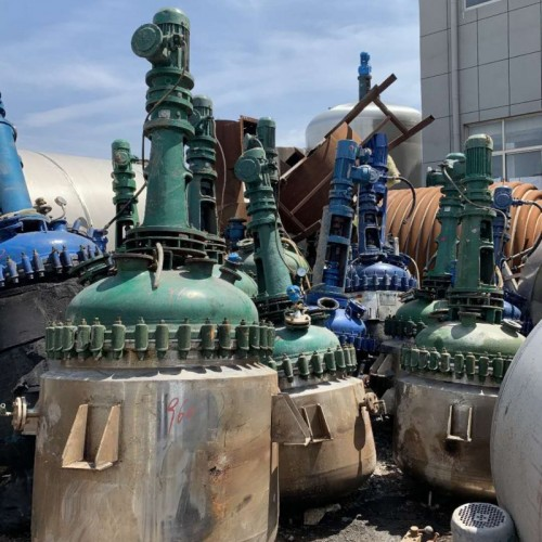 特价 二手高压反应釜 30吨不锈钢反应釜 搪瓷反应釜厂家