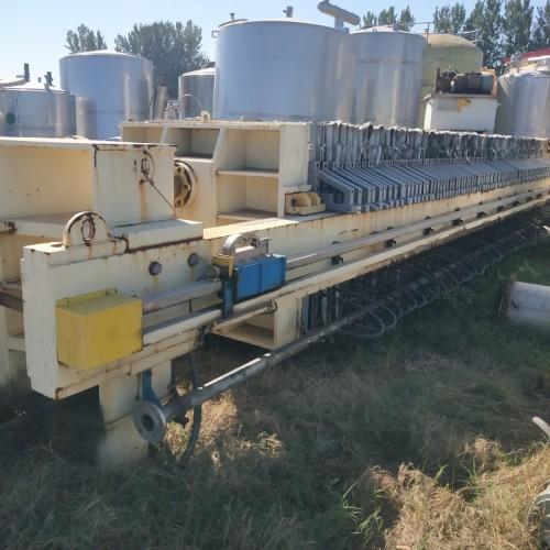 回收二手压滤机 二手程控景津压滤机 二手污水处理设备