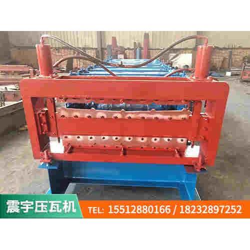 彩钢双层压瓦机_840/910双层彩钢压瓦机_按需订制