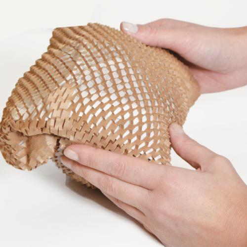 蜂窝牛皮纸 缓冲蜂巢牛皮纸 包裹缓冲蜂窝纸