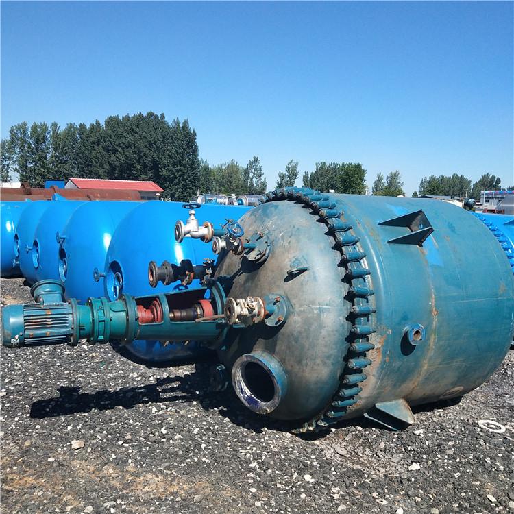 10吨不锈钢反应釜 搪瓷反应釜出售反应釜价格