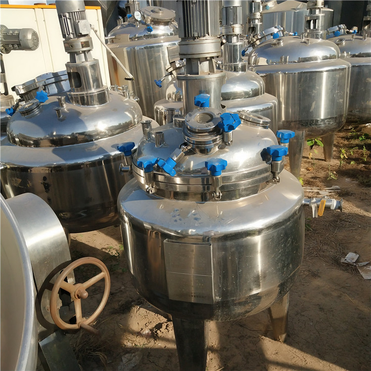 处理316不锈钢反应釜二手 过滤反应釜二手 反应釜价格