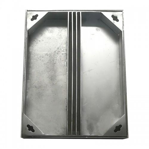 定制304不锈钢井盖圆形201方形井盖隐形装饰窨井盖阴井盖